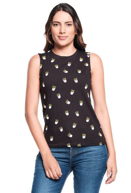 Camiseta-QUEST-QUE263200006-19-Negro-1