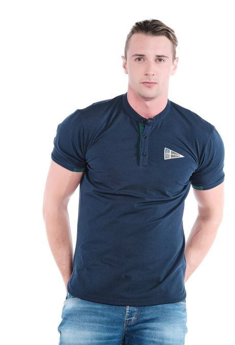 Polo-QUEST-Slim-Fit-QUE162OU0008-16-Azul-Oscuro-1
