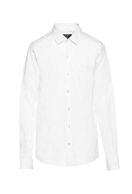 Camisa-Slim-Manga-Larga-Quest-Color-Blanco-Talla-L