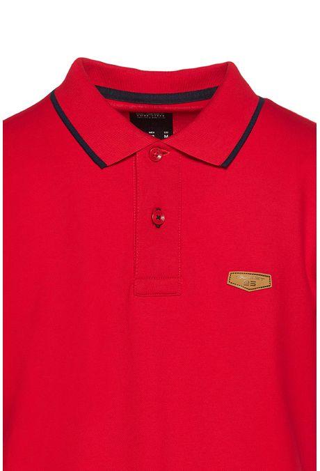 Polo-Tipping-Quest-Color-Rojo-Talla-M
