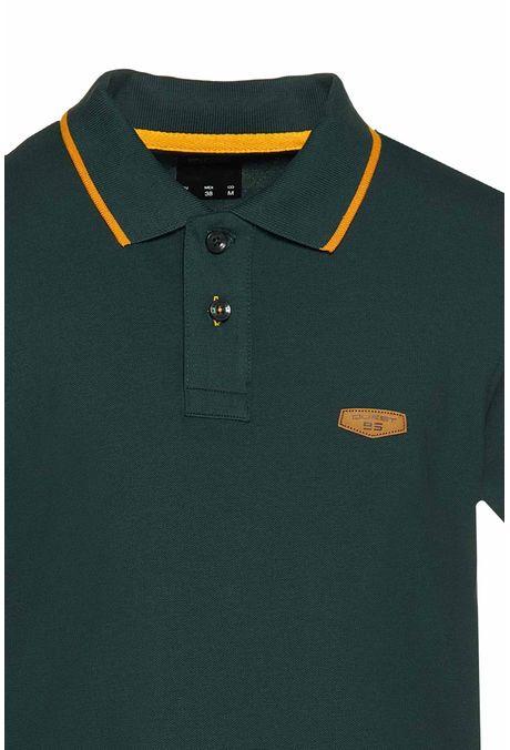 Polo-Tipping-Quest-Color-Verde-Talla-L