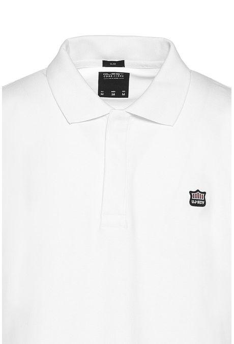 Polo-Slim-Quest-Color-Blanco-Talla-L