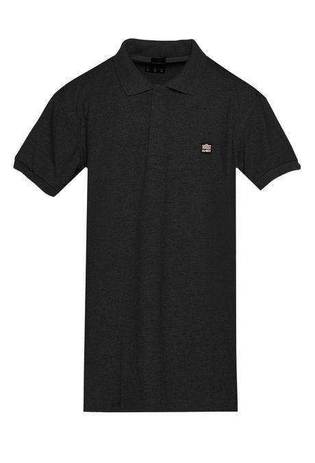 Polo-Slim-Quest-Color-Negro-Talla-XL