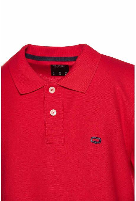 Polo-Slim-Quest-Color-Rojo-Talla-L