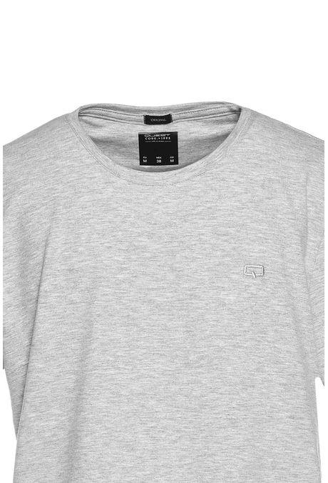 Camiseta-Especial-Especial-Quest-Color-Gris-Jaspe-Claro-Talla-L
